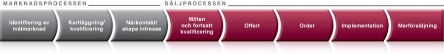 Marknads- och säljprocessen